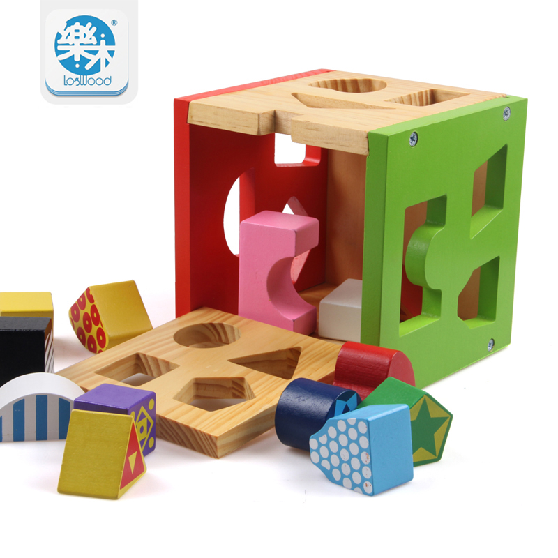цена на Shape matching box toys children's toys educational montessori gifts for children toy toy Educational High Quality