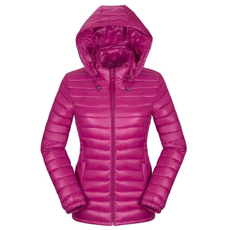 Hot new autumn winter jacket women hooded slim ultra light winter coat women down-cotton padded female   parka   short