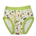 Último Popular Boy Pantalones Cortos Para Niños Cuecas Criança Medio Cintura Bragas de Impresión de Dibujos Animados Ropa Interior Para Niños Niños