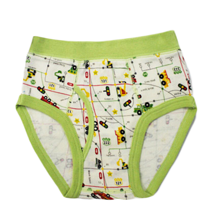 Newest Popular Boy Shorts Pants For Children Cuecas Crianca Middle Waist Printing Cartoons Underwear For Boys