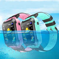 Children GPS tracker watch Location Waterproof Monitoring camera Smart Watches Touch Screen iOS Android Kids Wristwatch E7K 1pcs