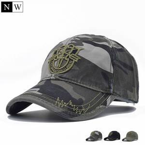 491e8e057 QingTeng Snapback Hats Baseball Cap Camouflage Hip Hop