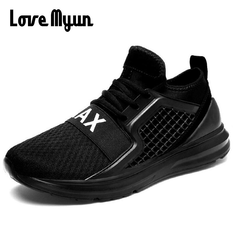 High Quality Men Breathable Casual Shoes Men Fashion brand Sneakers male shoes 39-44 Knitted Fly weaving cloth Shoes SC-07