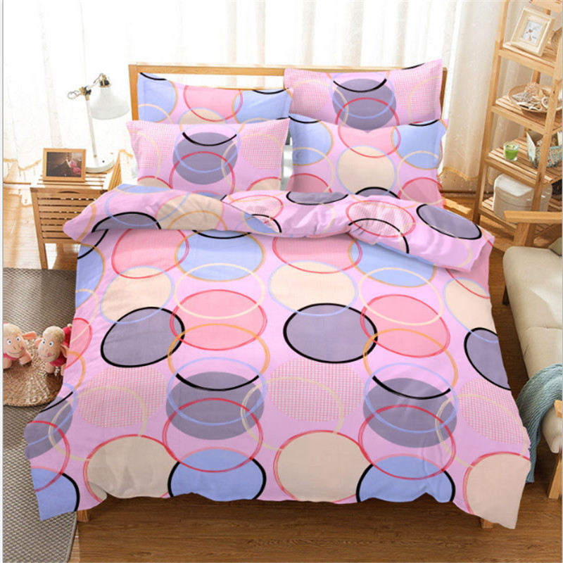 Home textile Geometric patterns bedding  4pcs 1pcs quilt cover/1pcs bed sheet/2pcs pillowcase free shippingHome textile Geometric patterns bedding  4pcs 1pcs quilt cover/1pcs bed sheet/2pcs pillowcase free shipping