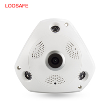 360 Degree VR Panorama Camera CCTV HD 960P Wireless WIFI