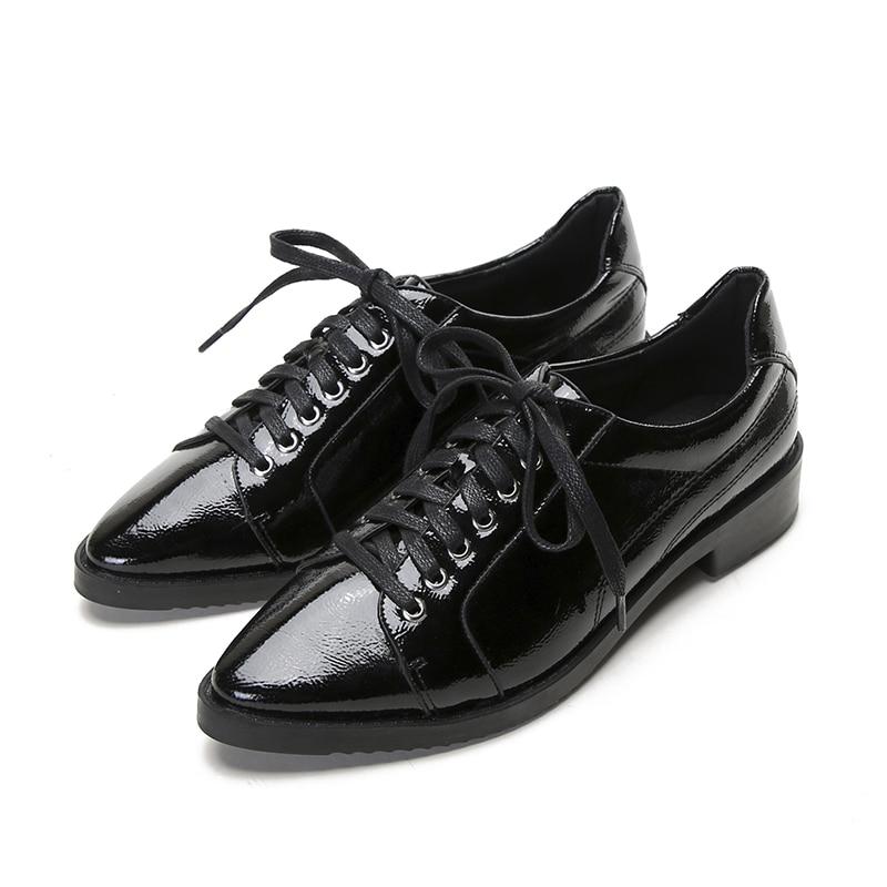 Cuir De Plate Femme Qualité Femmes En Verni Oxford Plates blanc Cru Haute Chaussures Pu Printemps forme Style Black Britannique wXIq4vv