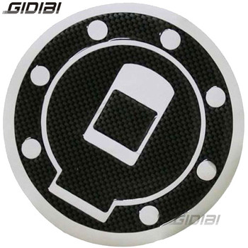 Motorcycle Fuel Gas Cap Cover Fibre Pad Sticker Tank Pad For Yamaha XJR1200 1994-1998 XJR1300 1998-2006 TDM850 TDM900 TRX850 image