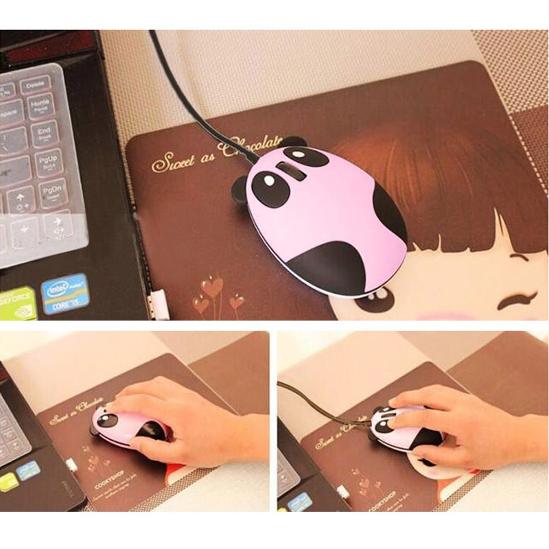 2.4GHz Wireless Optical Panda Computer Mouse Gifts Fit For Windows/2000/2003/XP/Vista/Win7/Linux/Android/Macbook  WIF66