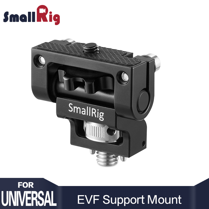 SmallRig Dual Camera Monitor Holder EVF Support Mount Swivel Monitor Mount with Arri Locating Pins 2174
