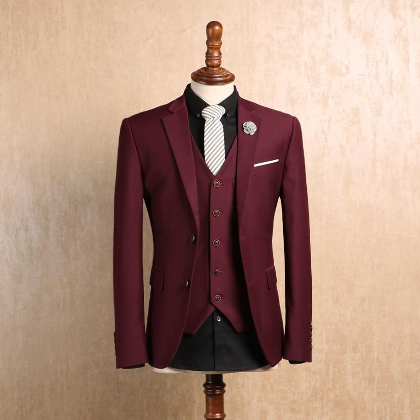 Men Fashion High Quality Linen Cotton Plaid Suits Autumn Winter Casual Caballero Delgado Formal Single Button Jacket Fashionable Patterns Blazers Suits & Blazers