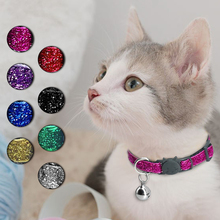 Harness Collar Kitten Leash Bell Necklace Cats-Products Gato For Cats Glowing