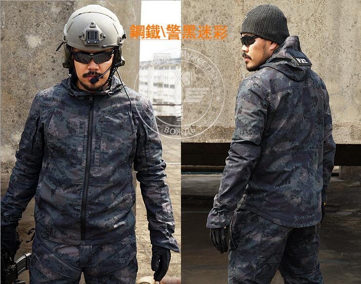 Outdoor Army Military Tactical Cargo Uniforms (Jacket +Pants) Men Camouflage Cotton Coat Trousers Sport Clothing fire maple sw28888 outdoor tactical motorcycling wild game abs helmet khaki