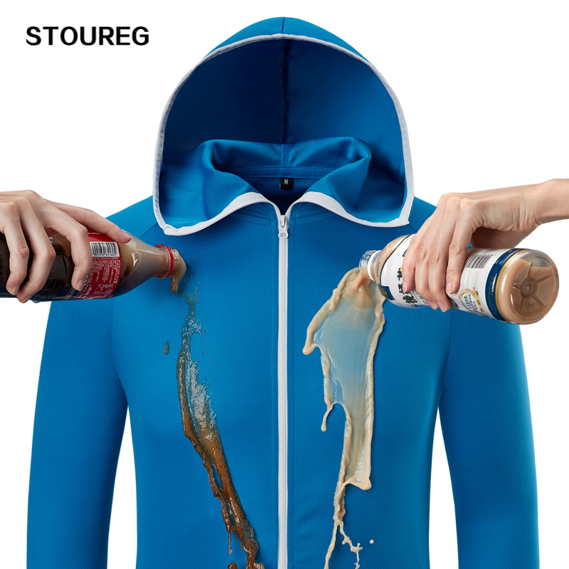 Outdoor Jackets Windbreakers Hiking Clothing Fishing Waterproof Men Hydrophobic Men's title=