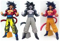 34 CM pvc Japanese anime figure Dragon Ball Super Saiyan 4 Son Goku action figure collectible model toys for girl/boy