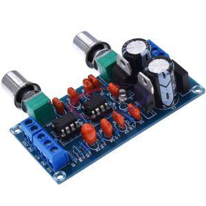 Image 2 - Nouveau NE5532 carte de filtrage passe bas caisson de basses carte de contrôle du Volume amplificateur Module 9 15 V