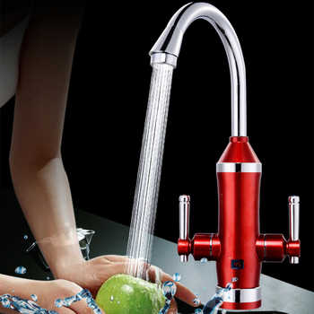 Instant Tankless Instantaneous Hot Water Heater Tap Torneira Electric Kitchen Musluk Heating Faucet With Filtered Water S2E