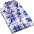 Men Short Sleeve Brand's Clothing Casual Plaid Shirts Men's Clothes Casual Dress Shirts Camisa Masculina Plus Size New 2017