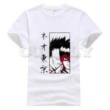 2019 new T-shirt Short sleeve  Tokyo Ghoul Leisure Japan Anime Cartoon comics Summer dress men tee clothing cos play Retro