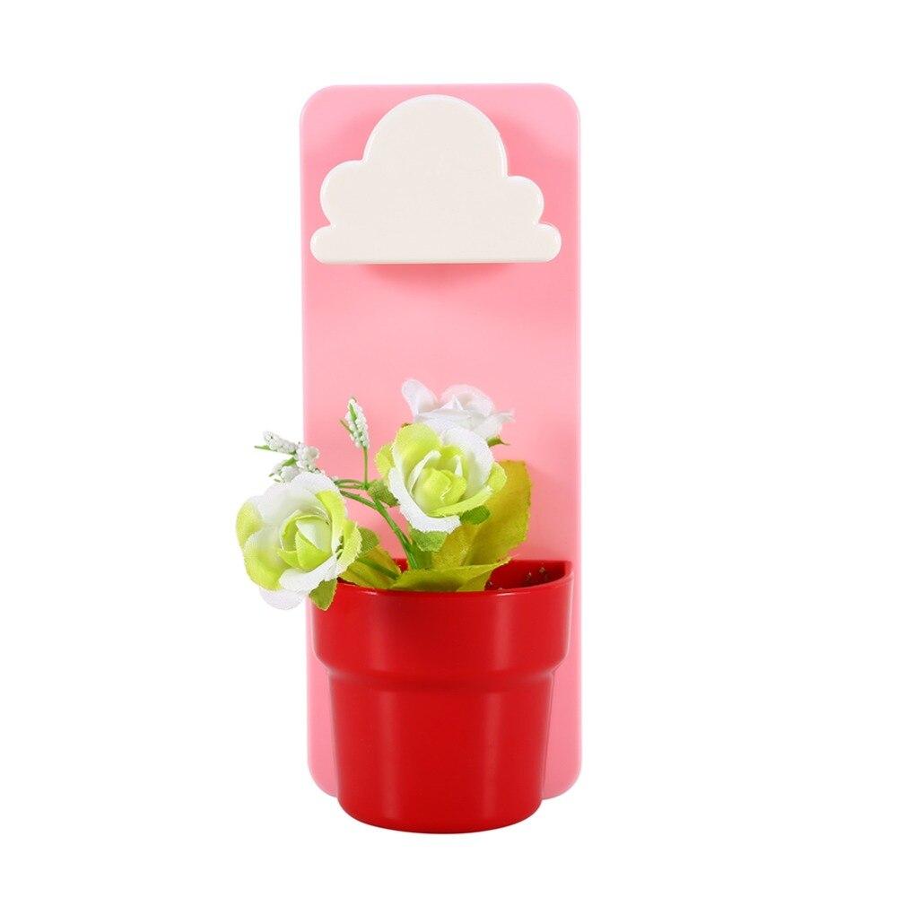 newtiny kreativen ausgelegt wolke regnerischen pflanze blumentopf