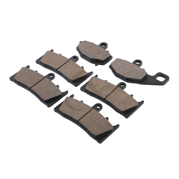6 pcs Motorcycle Semi-metal Sintered FRONT REAR BRAKE PADS FOR KAWASAKI ZX900 NINJA ZX9R ZX-9R 1996 - 2001 1997 1998 motorcycle front rear brake pads for kawasaki gpx 600 r zx600 1988 1996 gpx 750 r zx750 1987 1989 zr750 1991 1995 zx100 zx10 p04