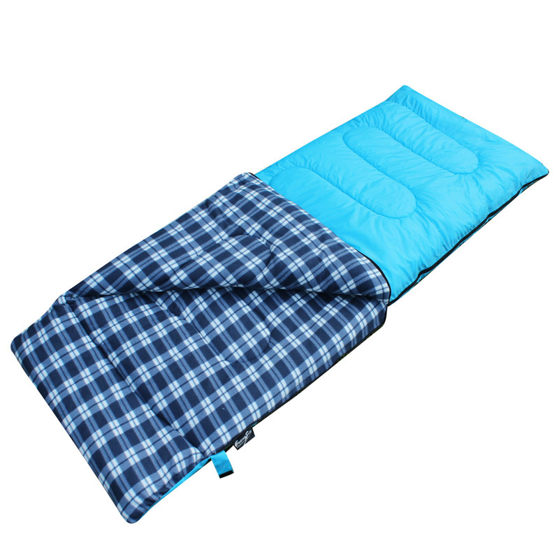 Cotton Sleeping Bag For Winter Spring Autumn Ultralight Envelope Outdoor Travel Camping Adult Keeping Warm Sleeping Bag hewolf outdoor sleeping bag envelope thick warm autumn and winter camping adult sleeping bag ultralight duvet