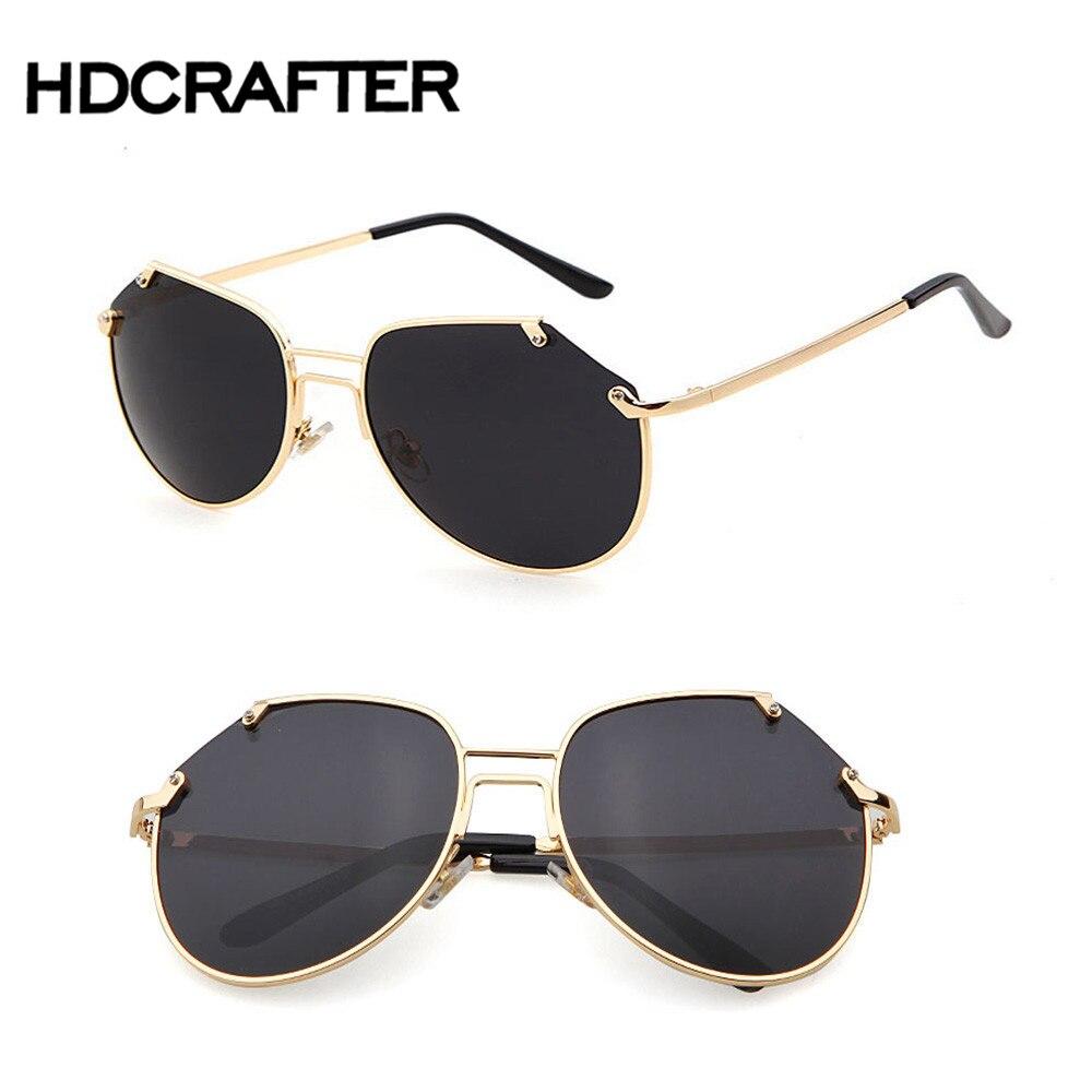 Vintage Sunglasses Men Mirror Rimless Women Sun Glasses Fashion Flat Top Sung...