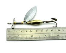 HENGJIA 5pcs 9.8cm 16g Spinner bait Spoon Fishing Lure Fishing Spoon Lure pesca Metal Jig Lure buzz bait Bass Fishing Tackle