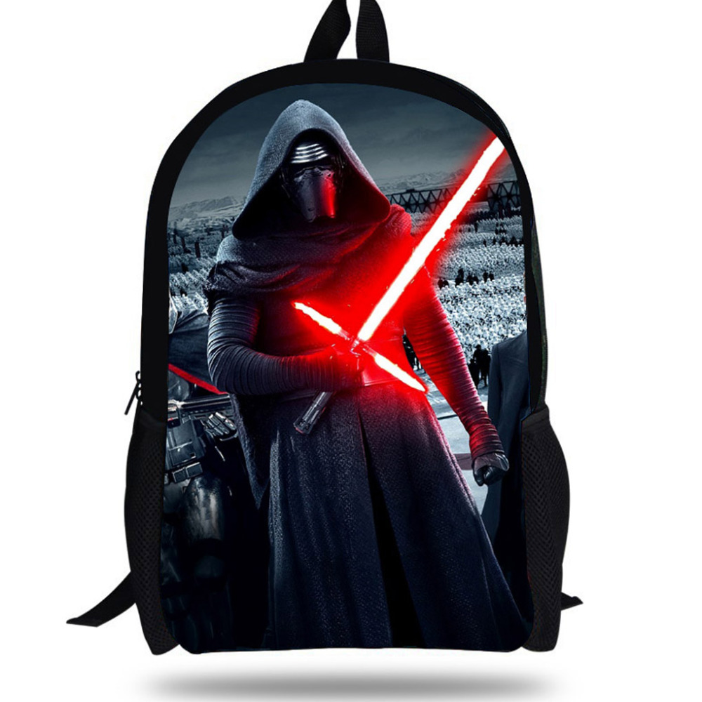 16 Inch Hot School Cartoon Backpacks For Children Boys Star Wars Backpack Kids S Bag Agers Students In Bags From Luggage