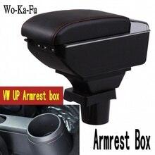 Аксессуары для салона автомобиля центральная консоль подлокотник коробка для вверх citigo подлокотник коробка Авто Stroage 2009-2017