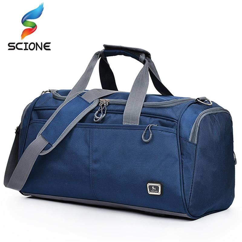 Hot Large Size Sport Bag Training Gym Bag Men Woman Fitness Bag Durable Multifunction Travel Handbag Outdoor Sporting Duffle Bag