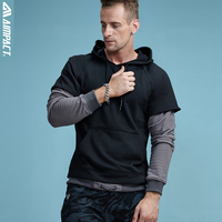 AIMPACT 2017 Fashion New Men Hoodies And Sweatshirts Brand Clothing Top Quality Casual Male Hooded Sweatshirt