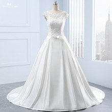 yiaibridal RSW1336 Real Custom Made Boat Wedding Dress
