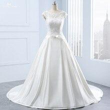 yiaibridal RSW1336 Real Custom Made Boat Wedding Dress