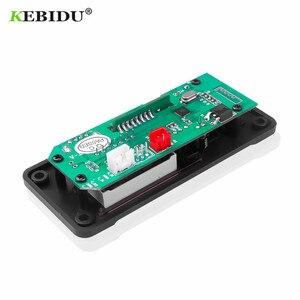 Image 5 - KEBIDU Bluetooth MP3 Decoder Audio Board DC 5V 12V USB Power Versorgung TF FM Radio MP3 Player Für auto Musik Lautsprecher + Fernbedienung
