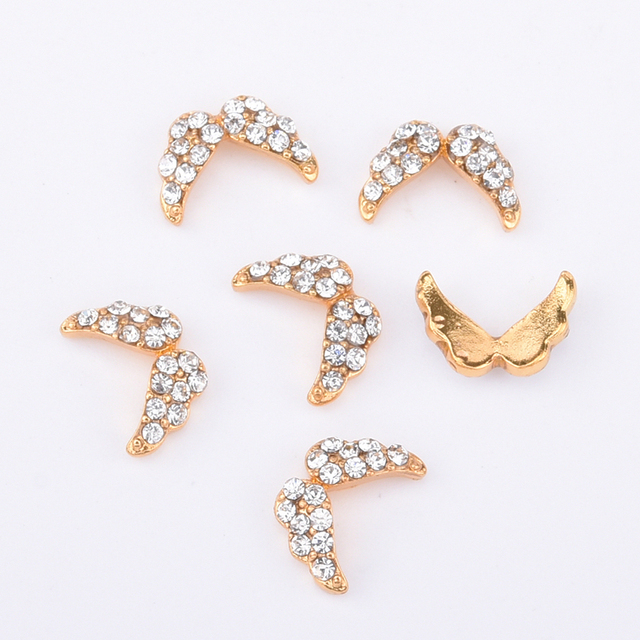 Crown rhinestone art set