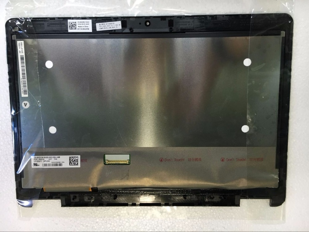 12,5 LED pantalla LCD para portátil de la Asamblea de pantalla táctil Panel para Dell Latitude E7270 1920*1080 AG EDP FHD LP125WF1 SP G4 pantalla