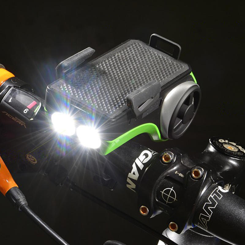ФОТО ROCKBROS MTB Cycling Sport Portable Bluetooth V4.0 Bike Audio Speaker Mp3 with Bicycle Bell/LED Lamp/Phone Bracket/Power