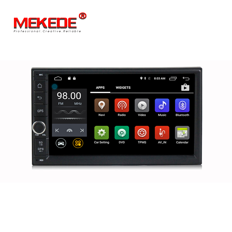 Free shipping 4G SIM LTE car dvd player for Nissan Toyota Kia VW universal android system
