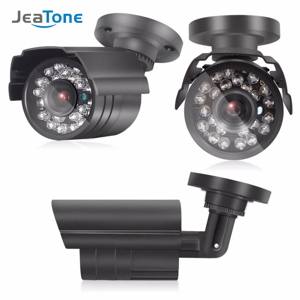 JeaTone AHD 2.0MP 1080P Analog Camera Bullet Metal Home Security Surveillance CCTV Outdoor IR Night Vision 24Led Waterproof