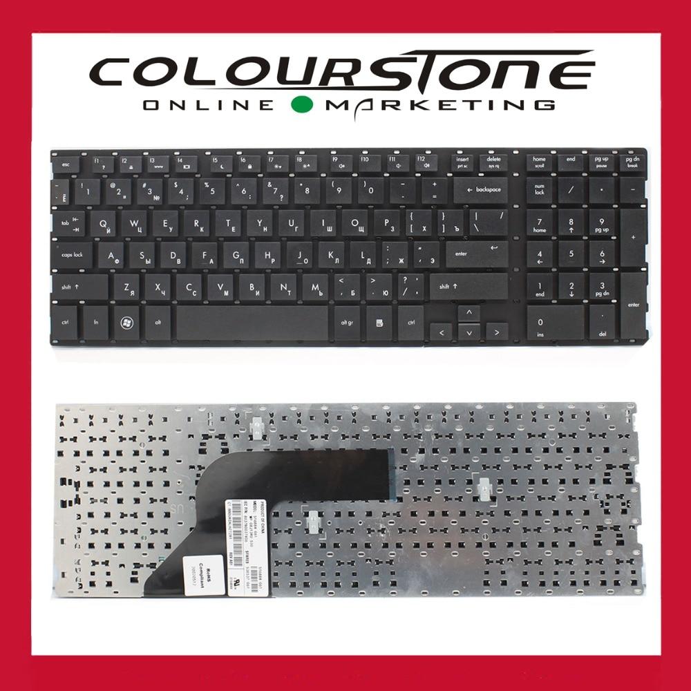 Russian Black laptop keyboard for HP 4510s 4515s 4710s