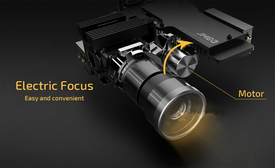 Jmgo V8 Led Projector  (11)
