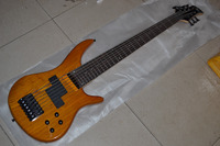 7 strings electric bass with special cutaway newest custom bass in bolt on style EMS free shipping