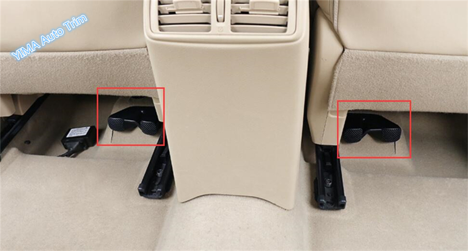 High Quality For Nissan X-Trail X Trail T32 Rogue 2014 - 2018 Seat Below Under Air Conditioning AC Outlet Vent Cover Trim