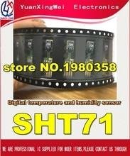 Darmowa wysyłka 1 sztuk/partia czujnik wilgotności i temperatury SHT71 nowe i oryginalne części.