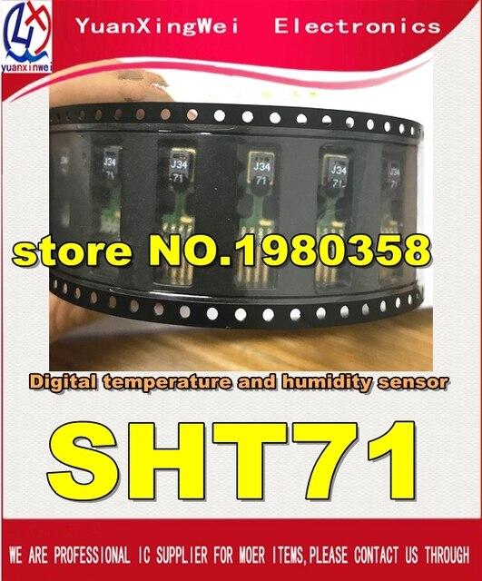 Trasporto Libero 1 pz/lotto di Umidità e Sensore di Temperatura SHT71 Nuove e parti originali.