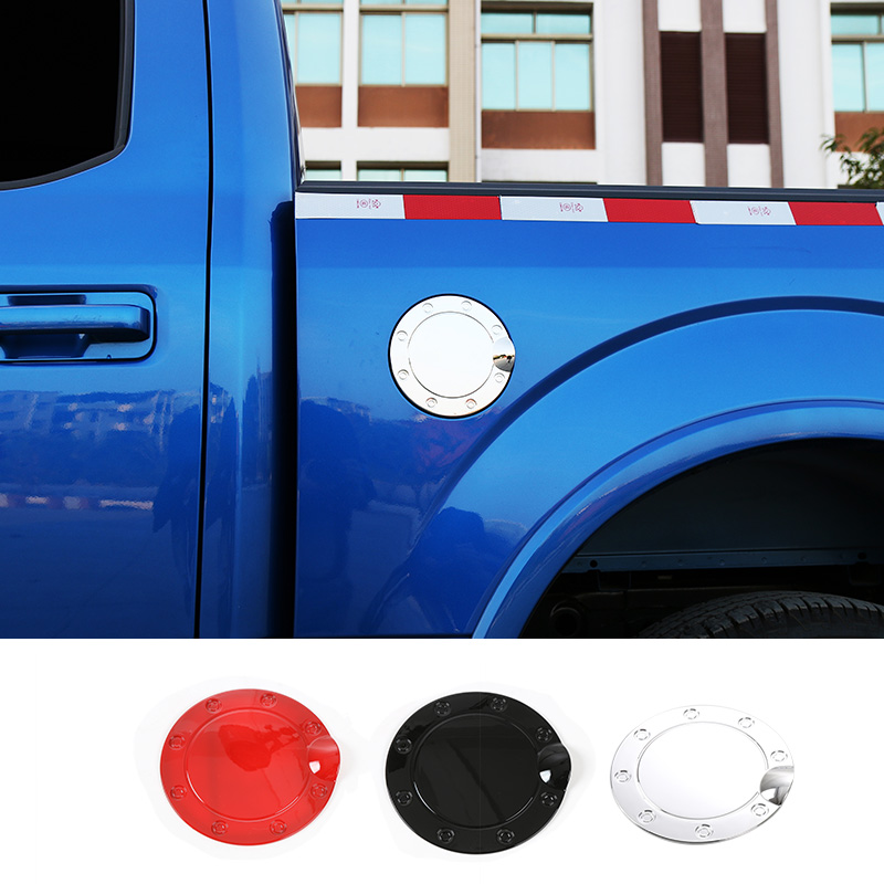 Generic ABS Chrome Fuel Gas Door Cover Trim Overlay Cap for 2015-2016 FORD F150