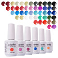 Choose Any 24 Colors Arte Clavo Promotion On Sale Colors Nail Polish UV Gel Nails Art Print Product Soak Off Gel Polish