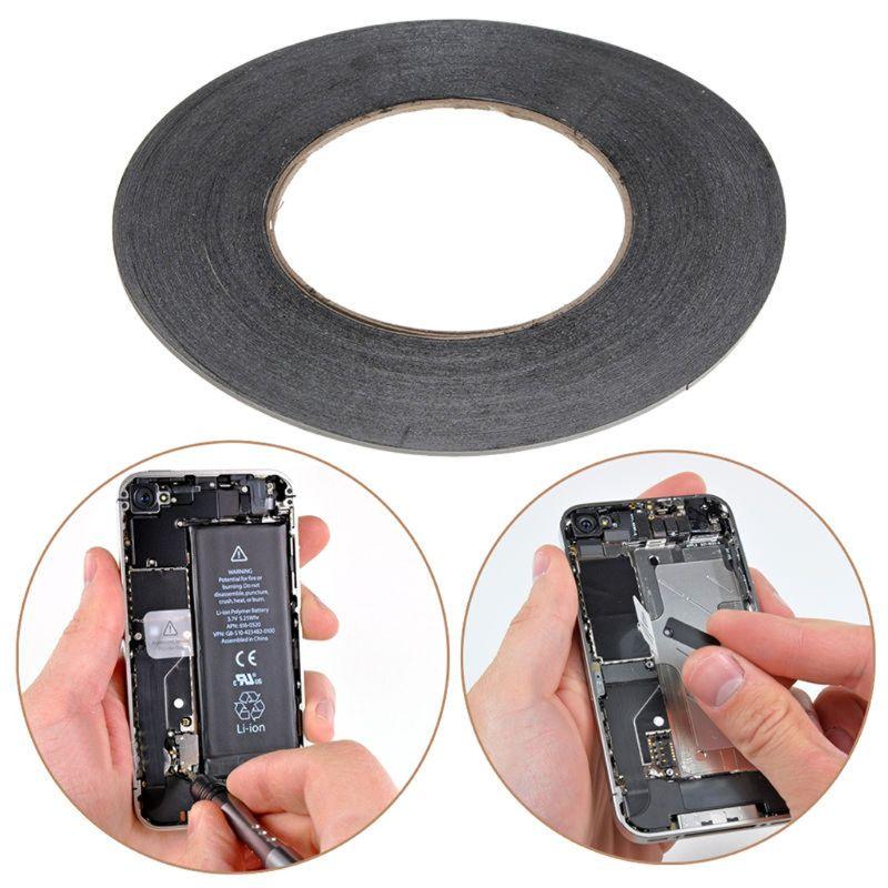 2mm 50m Double Face 3M Ruban Adhésif Collant Pour Téléphone écran LCD Réparation
