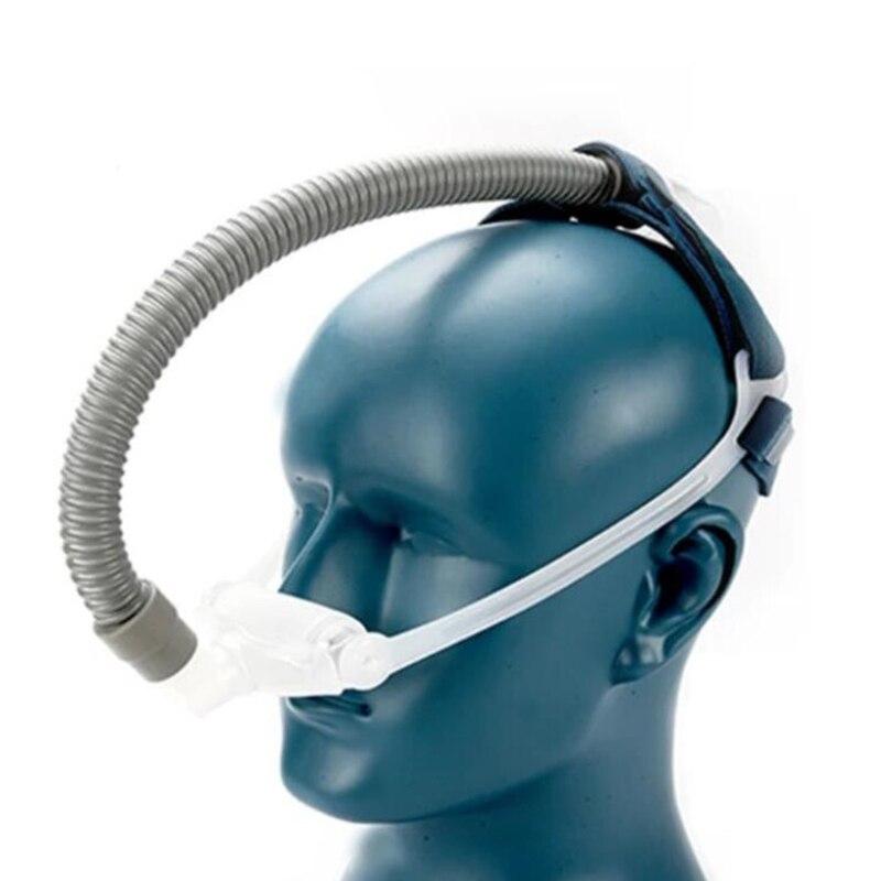 Nasale Oreillers Masque Pour CPAP Auto CPAP BiPAP Ventilateur Sommeil 3 Tailles Universel Coussin Pad Anti Ronflement CPAP Accessoires