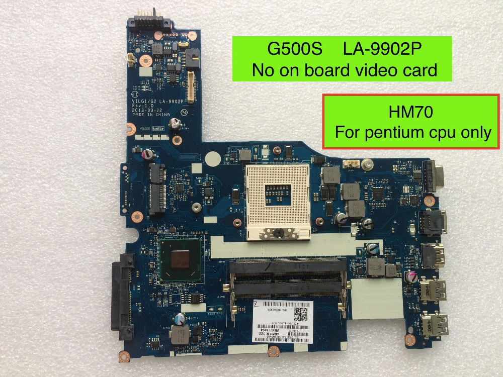 Working Perfectly For Lenovo G500s VILG1/G2 LA-9902P laptop motherboard ( fIT For Pentium cpu only ), Free Shipping цена